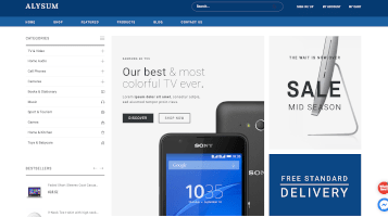disseny botiga online electronica