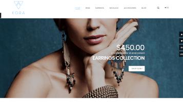 disseny botiga online joieria